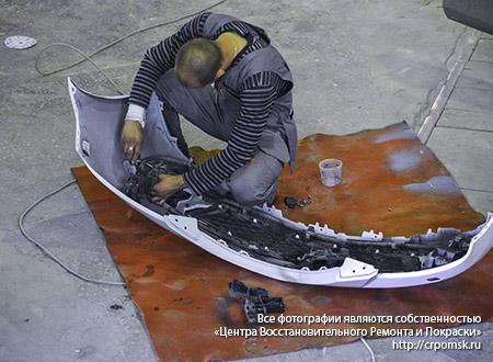Мастер по ремонту бамперов: ремонт BMW X5